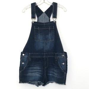 Mudd Denim Overall Shorts
